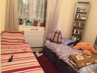 Bed available for a lady in a Twin shared room in VAUXHALL Station 85 PW