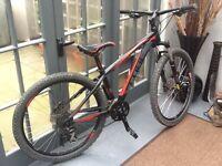 CUBE AIM mountain bike (small frame)