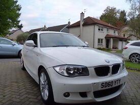 BMW 116D M-Sport White