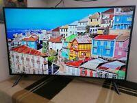 "Samsung UE49RU7300 49"" Curved Smart 4K Ultra HD TV with HDR10+, Apple TV App and Slim Design"