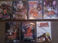 Bleach movie 1+2 + Naruto movie 1-4 + lost story