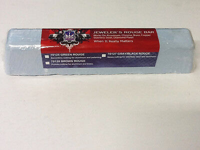 BLUE ROUGE HIGH GLOSS (LARGE 2 LB) POLISHING BUFFING COMPOUND 10X2X2 MADE IN USA