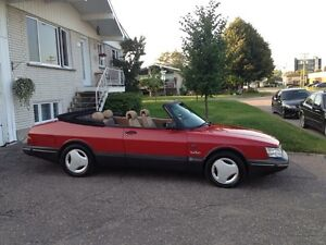 Saab 900 turbo spg convertible 1989