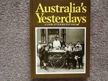 Readers Digest Services, Sydney Book.  Australia's Yesterdays Glenorchy Glenorchy Area Preview
