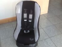 Group 0+1 lightweight car seat for newborn upto 18kg(for upto 4yrs)washed and cleaned