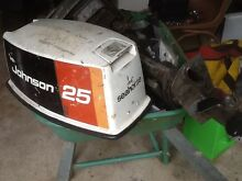 Outboard Johnson Seahorse  25 HP Armadale Armadale Area Preview
