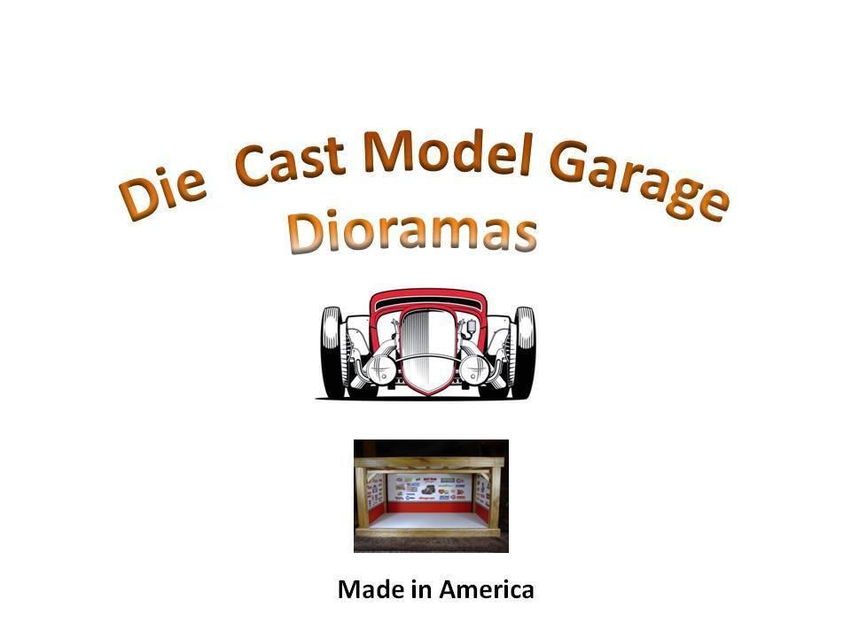 Die Cast Model Garage Doramas