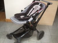 Pram for baby upto 2yrs size,forward and rear facing,3 recline positions in both directions,