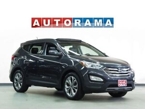 2015 Hyundai Santa Fe NAVIGATION LEATHER SUNROOF 4WD BACKUP CAME
