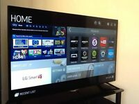 LG 49 inch 4K smart Tv mint condition