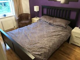 King Size Bed and Bed Side Tables