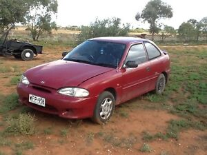 1997 Hyundai Excel Hatchback Moorook South Loxton Waikerie Preview