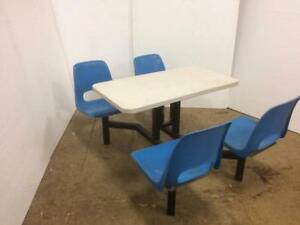 Restaurant Chairs / Tables - perfect for fast food or cafeteria, great low price