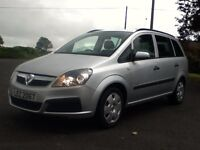 *!*7 SEATER*!* 2007 Vauxhall Zafira 1.6 Life **MOT'd 2nd MARCH 2017** **ONE LADY OWNER FROM 2012**