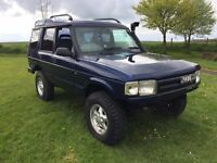 1995 LANDROVER DISCOVERY 2.5 TDI LONG MOT *LOW MILES* AUTOMATIC*£1395