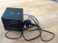 Sony cube radio alarm clock