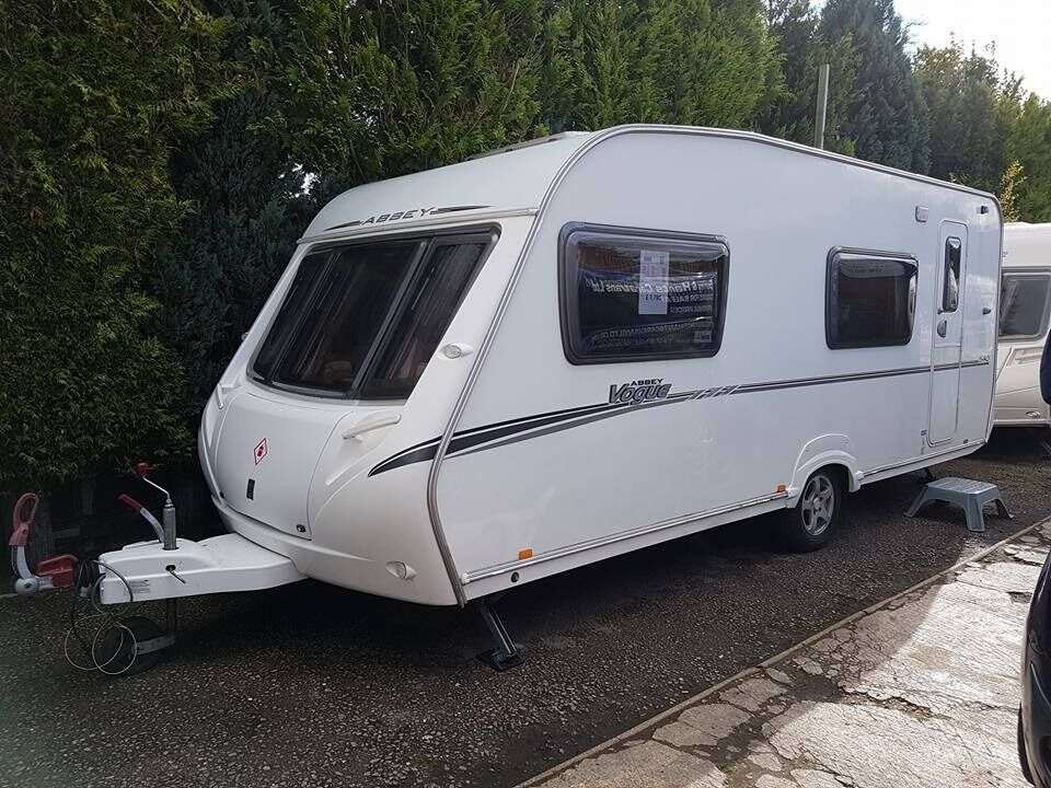 Abbey Vogue 540 6 Berth caravan 2008 ,FIXED BUNK BEDS, AWNING, BARGAIN !