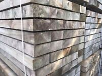 🌟 Pressure Treated Green Timber / Wood Railway Sleepers