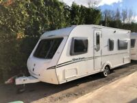 2010 Abbey Spectrum 418 4 berth caravan FIXED BED, Awning VGC Bargain !