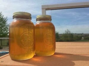 All natural, raw honey!
