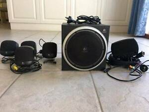 Logitech Z-640 Computer Speakers with Subwoofer Athelstone Campbelltown Area Preview