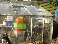 Greenhouse Free to Dismantle and Collect