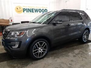 2017 Ford Explorer Sport / ONE OWNER LOCAL TRADE!