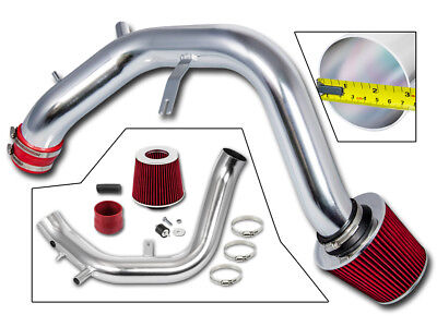 BCP RED 04-08 Acura TSX 2.4L Cold Air Intake System + Filter
