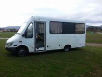 Partially Converted Camper van - Sleeps 4, 8 seats