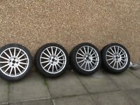 4x Ford st alloy wheels