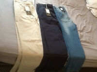 Mens Brand New Trousers x 3, Never Worn.