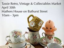 First ever Tassie Retro Vintage & Collectibles Market Hobart CBD Hobart City Preview