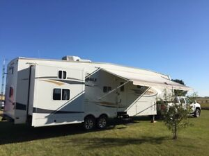 Jayco Eagle 3 slide bunkhouse 4sale or trade for class C