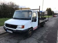 Iveco flat bed 2002 transit engine and running gear ideal recovery truck conversion 750! Tonight