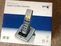 B T Freestyle 710 Digital Cordless Handset and base