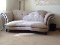Sofa, chair and stool