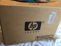 HP Printer - good condition - with ink and box