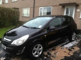 Vauxhall corsa 1.2 sxi. Low mileage. Mint condition.