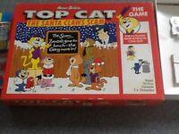 TOP CAT SANTA CLAWS SCAM BOARD GAME