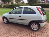 Vauxhall Corsa 1.2 3 door + Low Milage- 12 Months MOT + New timing Chain!
