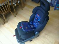 Ford Galaxy Rear Child seats (matching pair) in blue;