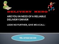 DO YOU NEED A DELIVERY DRIVER FOR YOUR TAKEAWAY