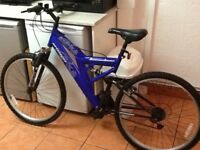£40 bike in fantastic condition looks new 26 wheel 18 frame 18 gears can deliver for petrol cost