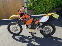 Road registered KTM 200 EXC (2007 - 58 plate) - MOT April 2019