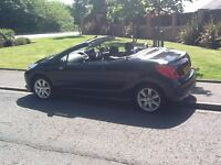 CONVERTIBLE 2008 PEUGEOT 207CC AUTOMATIC 1.6 2DR 53000 MILES,YEARS MOT,FABULOUS ALL ROUND CONDITION.