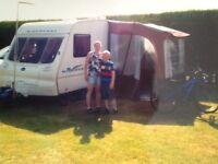 Caravan awning,good condition