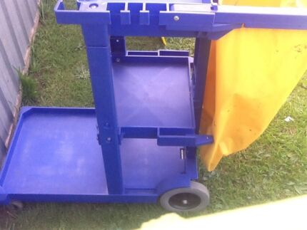 Cleaning cart janitors trolley need gone moving sale bargain
