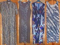 A collection of 4 maxi dresses for special occassions