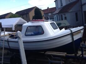 Boat outfit Orkney Longliner, trailer, Yamaha outboard all ancillaries offer!