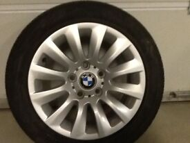 16INCH 5/120 BMW WINTER LIKE NEW ALLOY WHEELS WITH TYRES FIT MOST MODELS